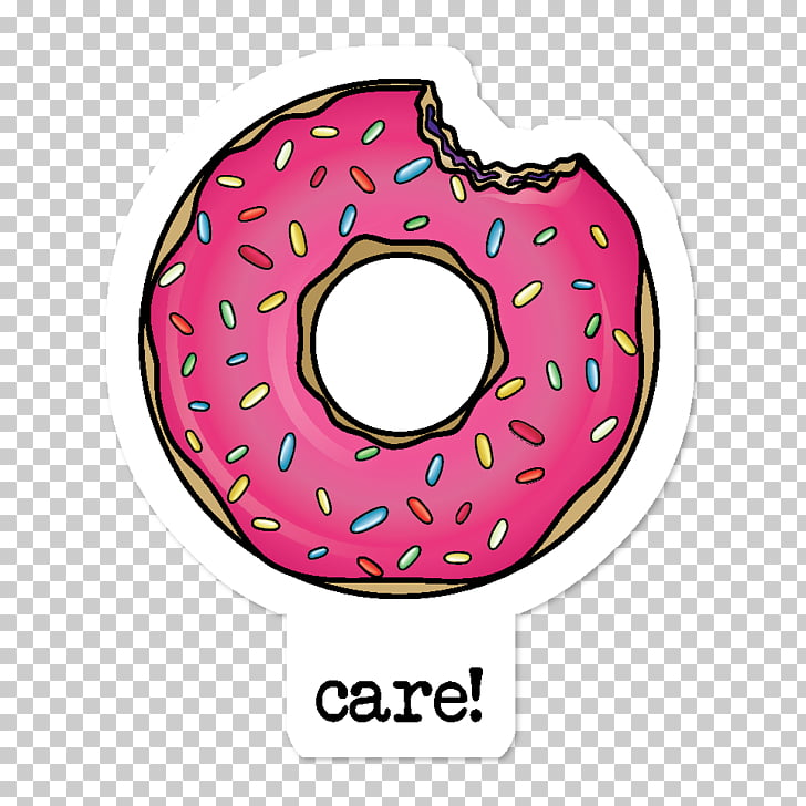Donuts Sticker Adhesive Redbubble, donuts PNG clipart.