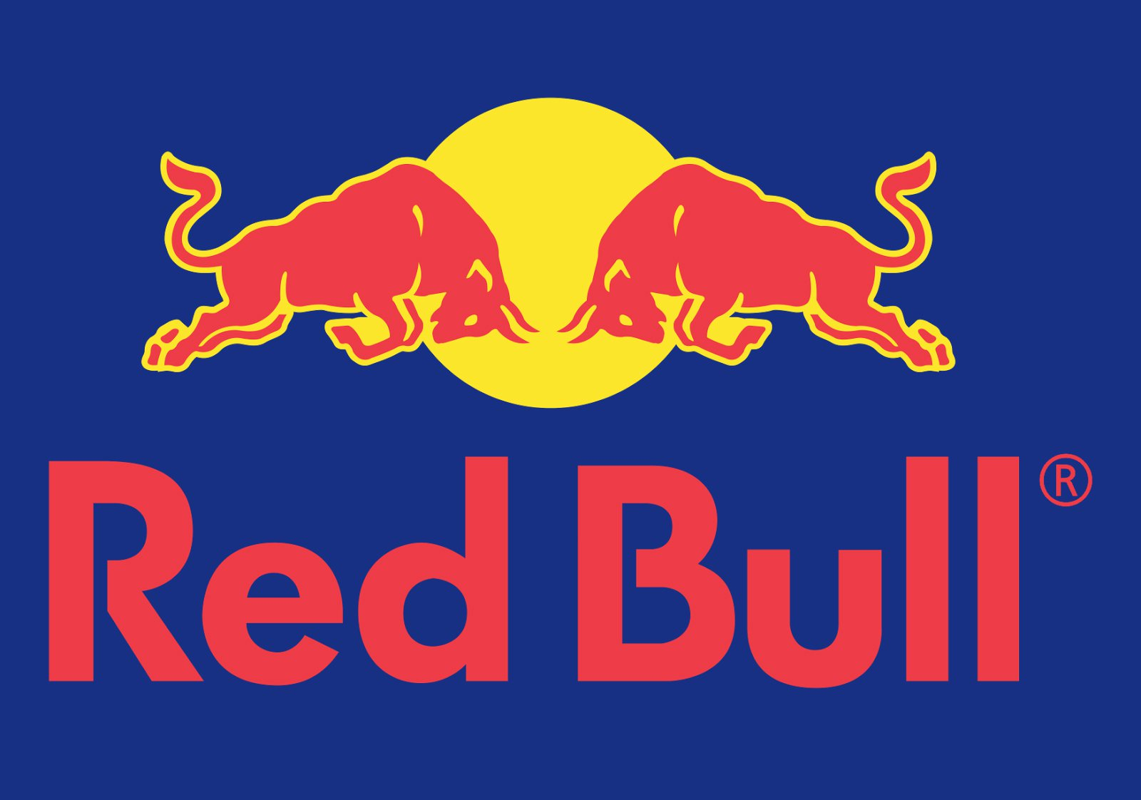 Meaning Red Bull logo and symbol.