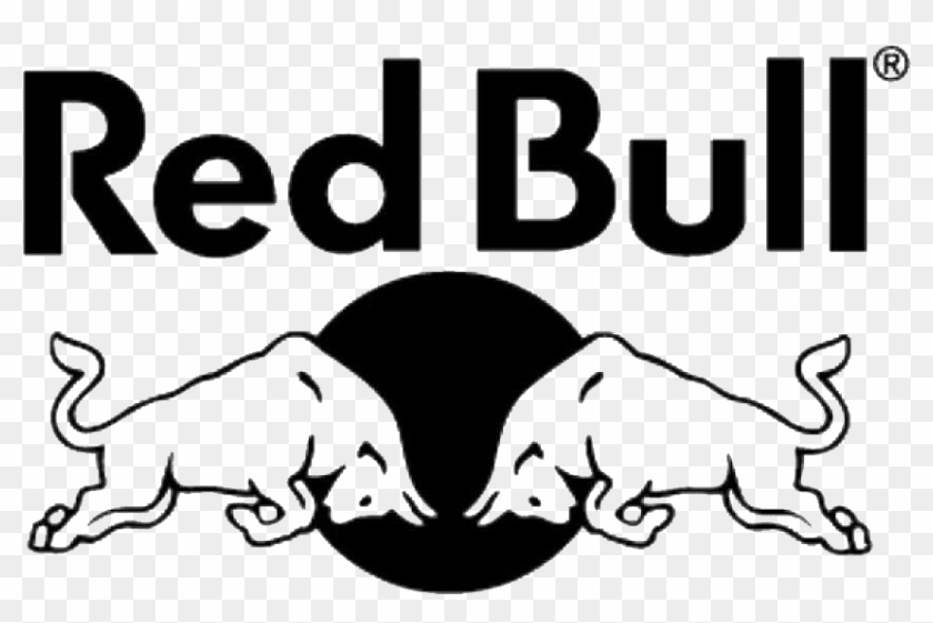Red Bull Logo Black And White.