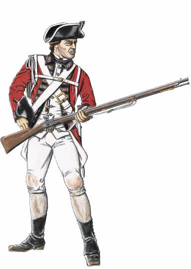 Images of British Red Coat.