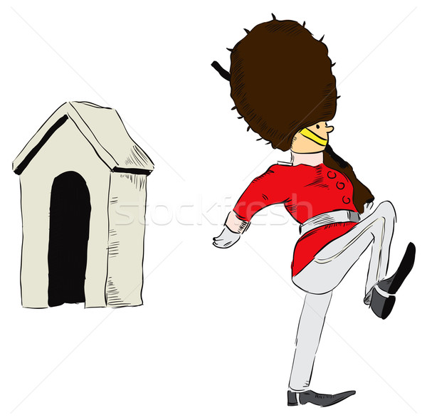 Gallery For > Angry British Redcoat Clipart.