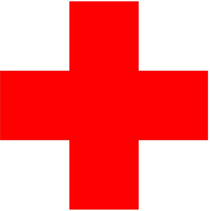 Color American Red Cross Logo.