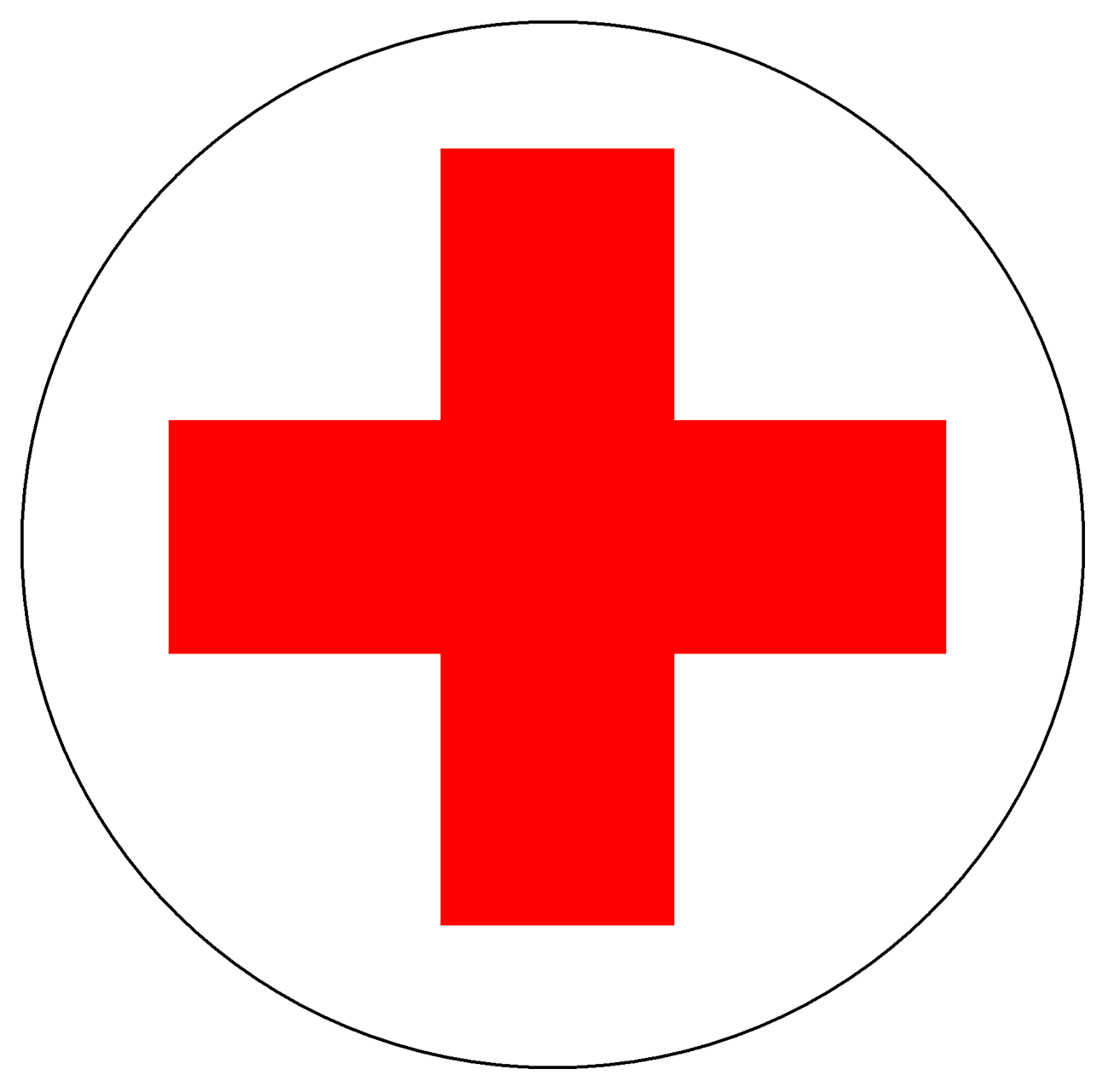 Meaning American Red Cross logo and symbol.