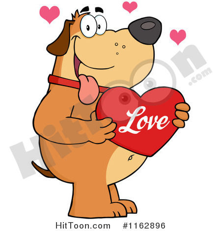 Reddish Brown Dog Clipart.