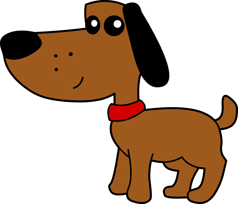 Reddish Brown Dog Clipart.