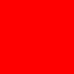 Red reddit icon.