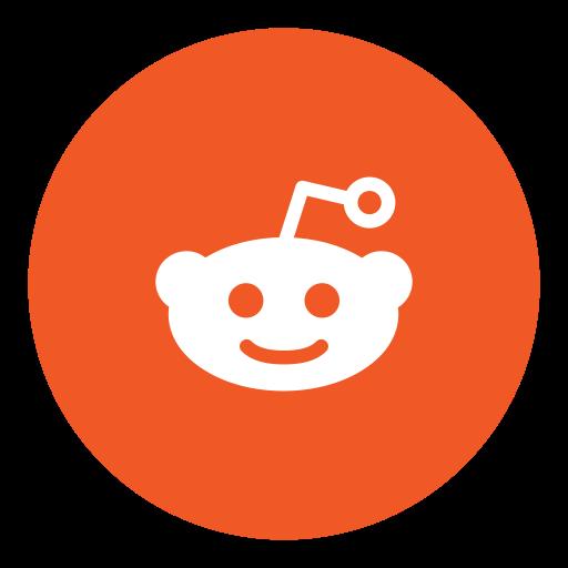 Reddit, social icon.