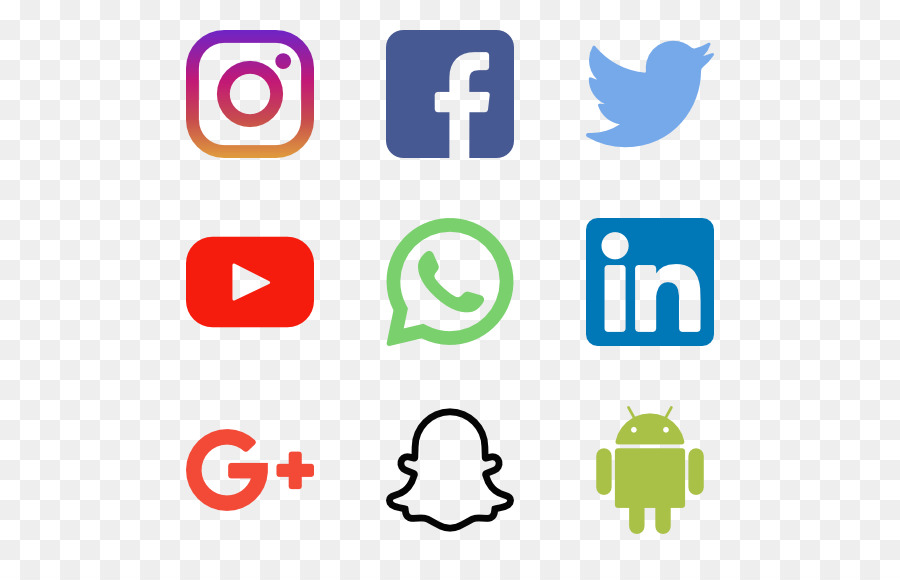 Social Media Logo clipart.