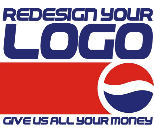 redesign your logo.