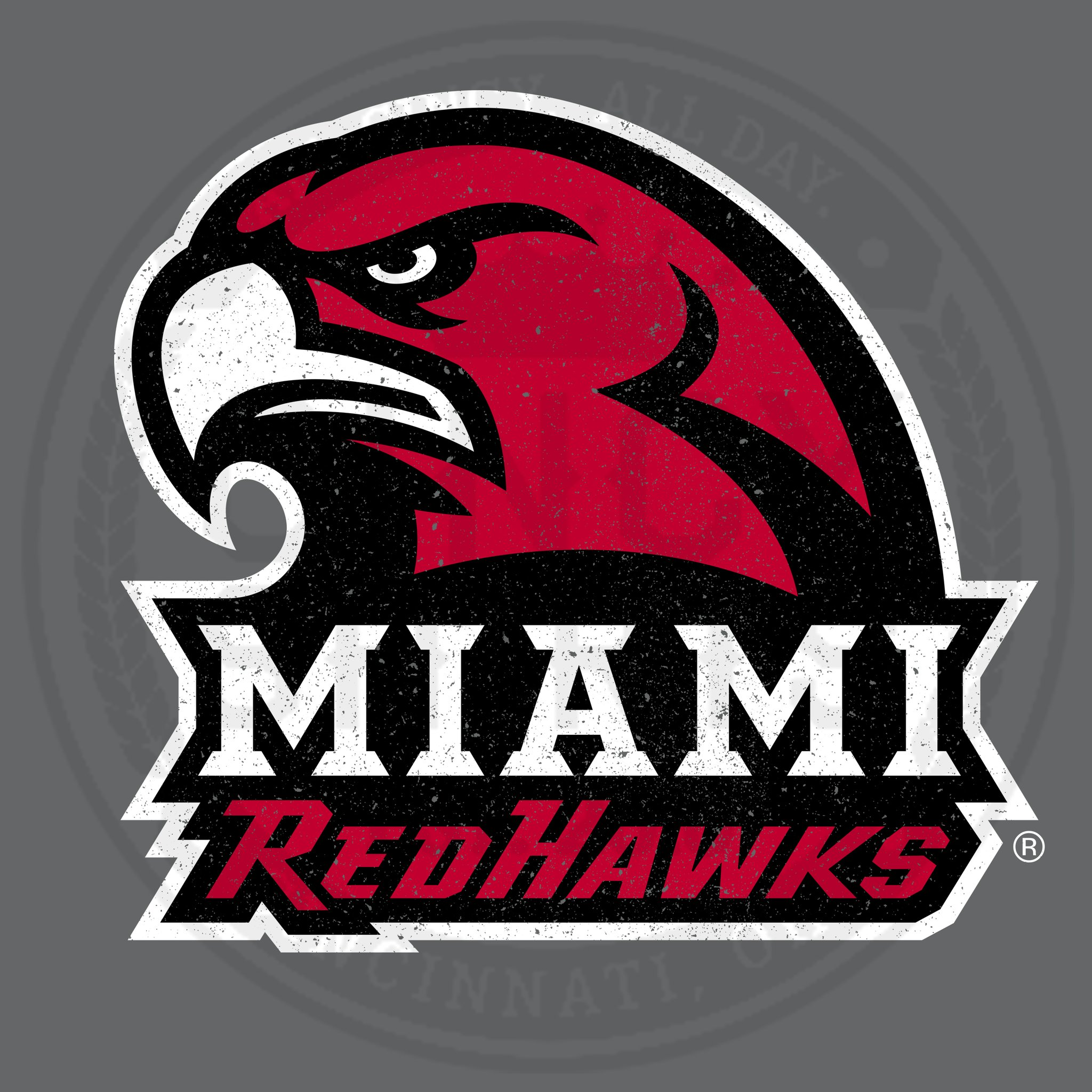 Miami Redhawks Logo.