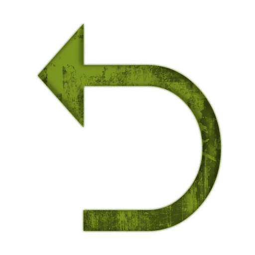 Redirect Left Arrow Icon #005235 » Icons Etc.