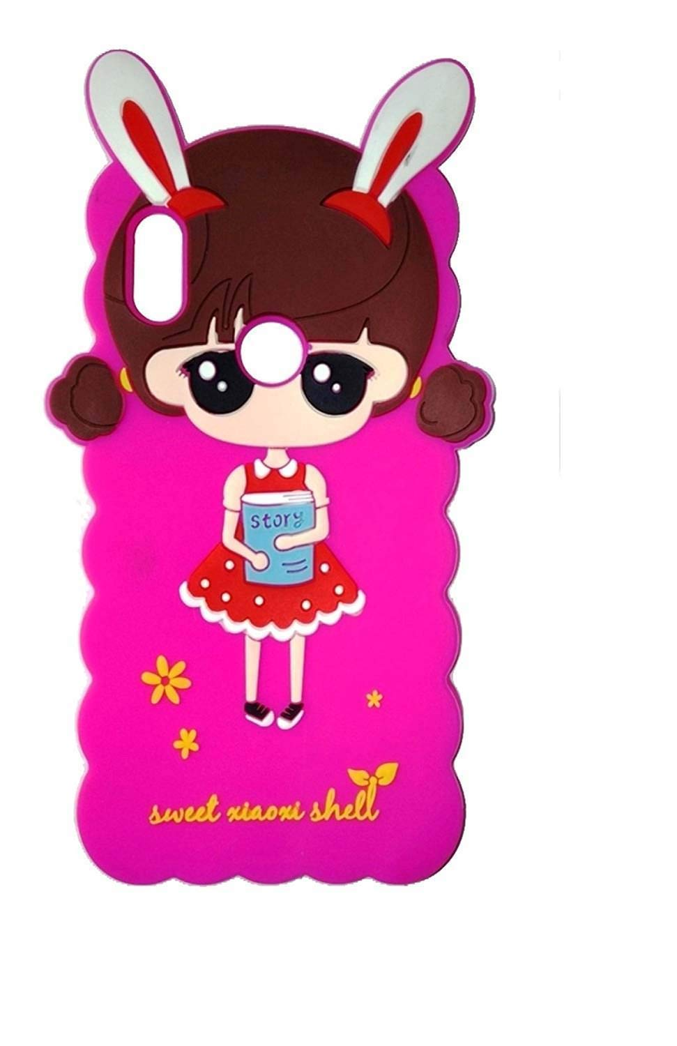 Aarnik Baby Nice Doll Silicon Case Soft Back Cover for.