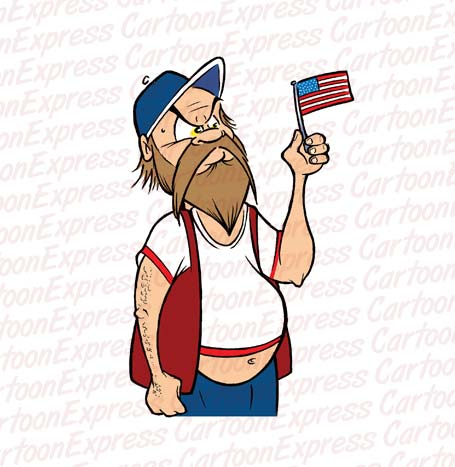 Redneck Cartoon Clipart.