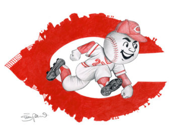 Cincinnati reds logos clipart.