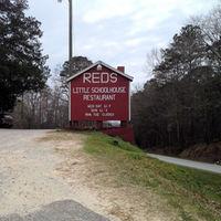 Red's Little School House Restaurant, Grady, Troy.