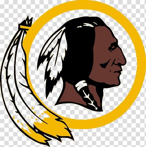 Redskins logo, Red Skins Logo transparent background PNG.