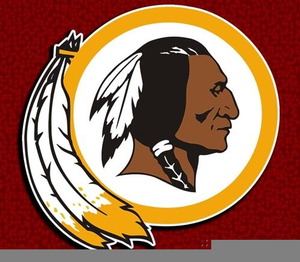 Redskin Football Clipart.