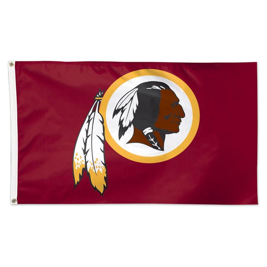Washington Redskins WinCraft Deluxe 3\' x 5\' Logo Flag.