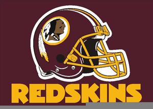 Washington Redskins Football Clipart.