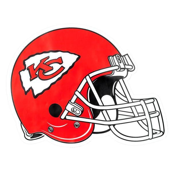Applied Icon NFL Washington Redskins Outdoor Helmet Graphic.
