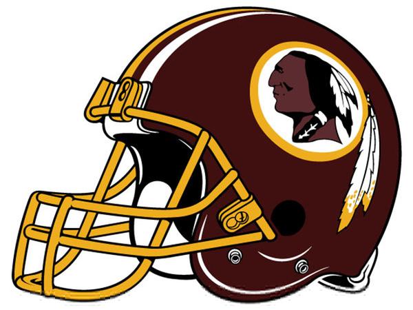 Redskins Football Helmet From Clipart.