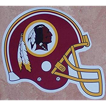 Washington Redskins FATHEAD Team Helmet Logo Official NFL.