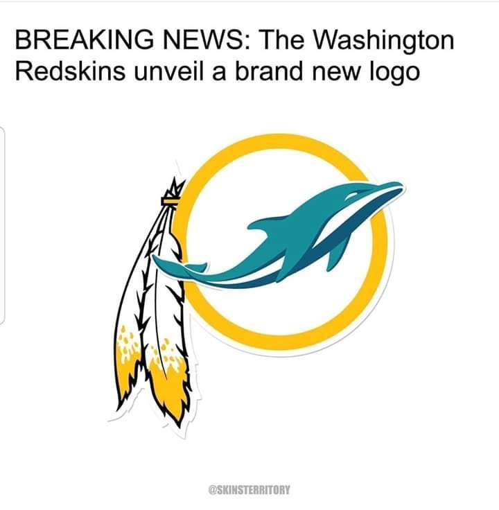 Redskins announce a new logo : Redskins.