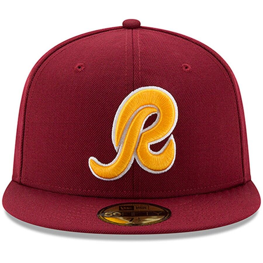 Washington Redskins New Era Classic R Logo Omaha 59FIFTY.