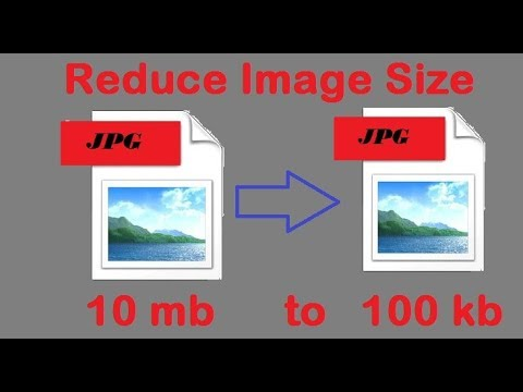 How to reduce big size picture (.jpg,png file etc.).