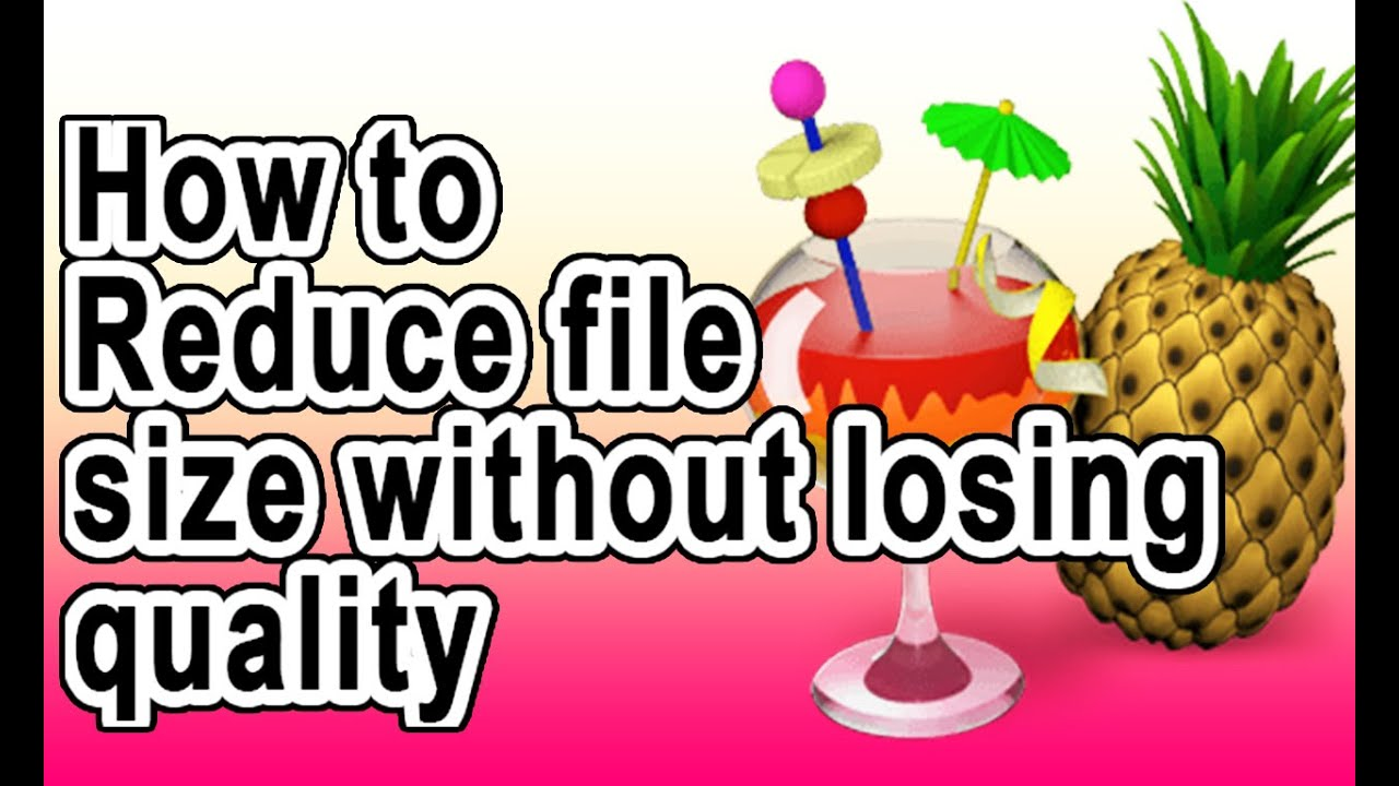 Reduce size of clipart without losing quality clipart images.