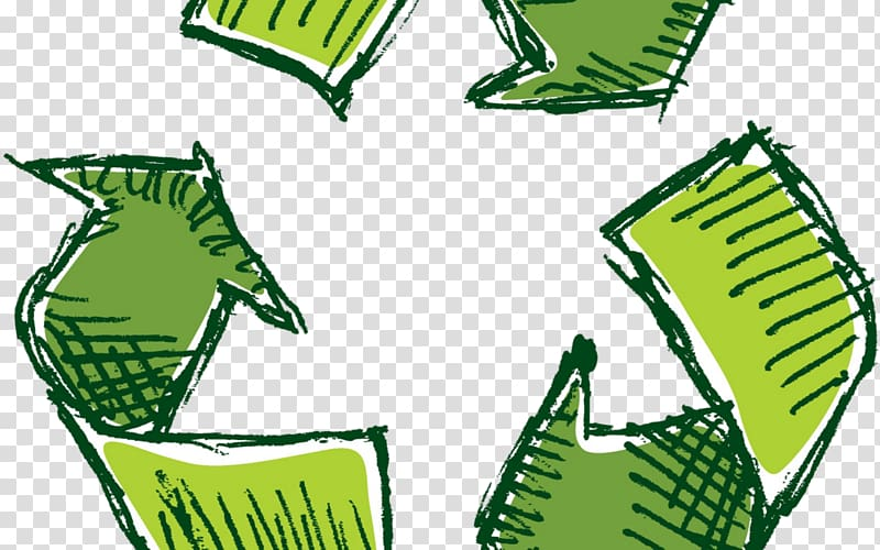 Green recycle logo , Recycling symbol Reuse Waste.