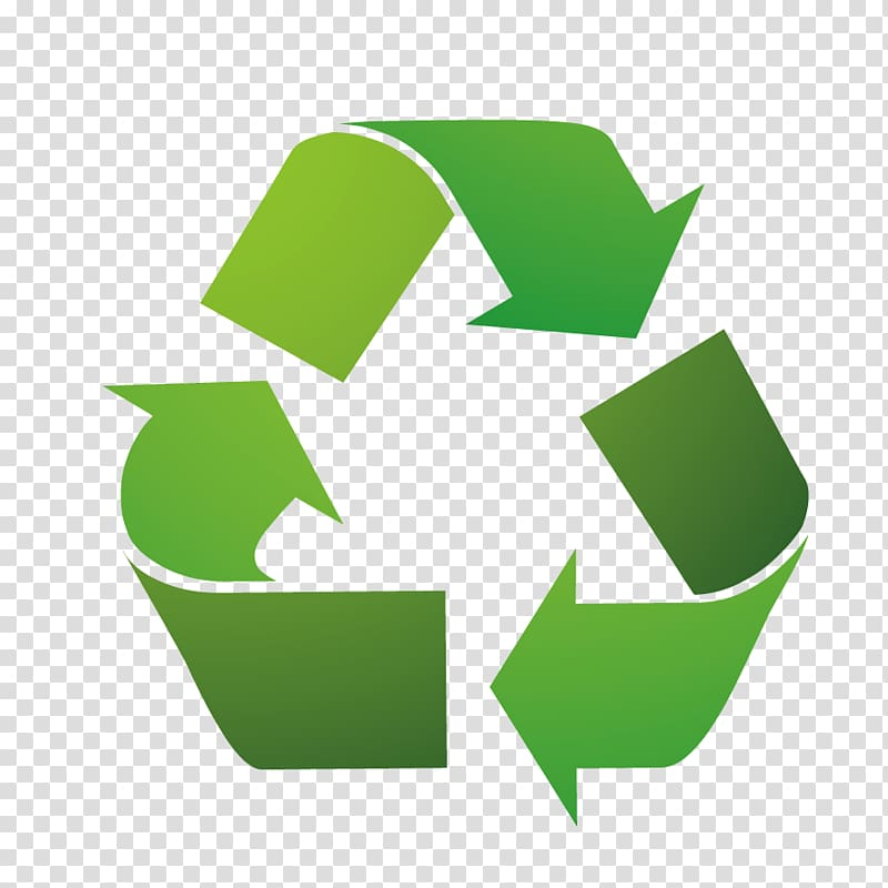 Recycle, reuse, and reduce icon, Recycling symbol Tin can.