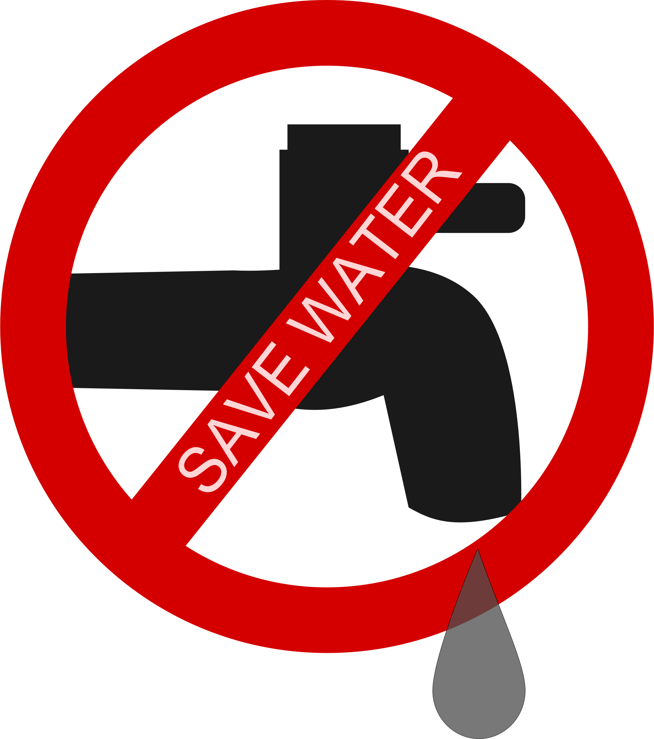 Reduce water clipart.