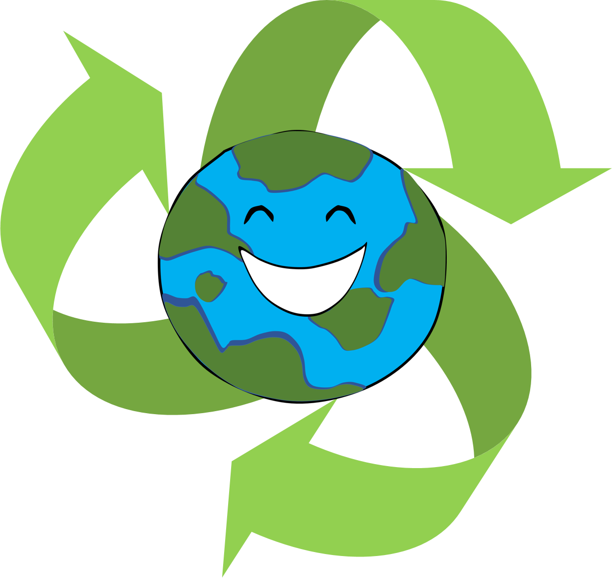 Reduce reuse recycle clipart club.