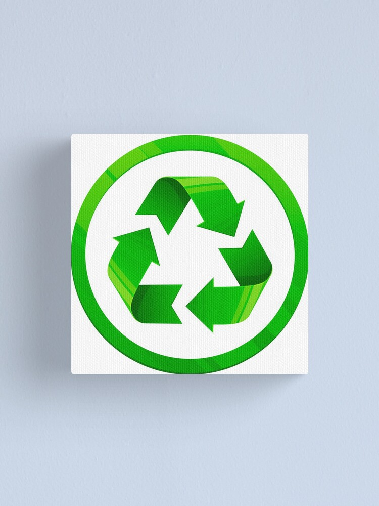 Reduce Reuse Recycle symbol for conservation.