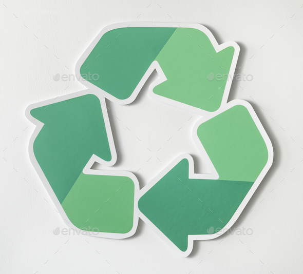 Reduce reuse recycle symbol icon.