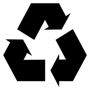 Details about RECYCLE SYMBOL Vinyl Decal Sticker.