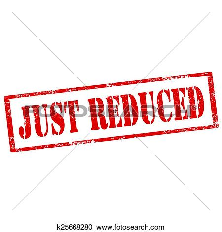 Clipart of Just Reduced.