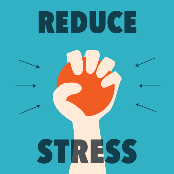 Reduce Stress Clipart.