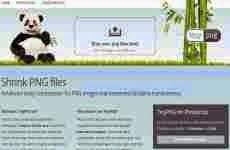 TinyPng: servicio online para reducir imágenes en formato png.