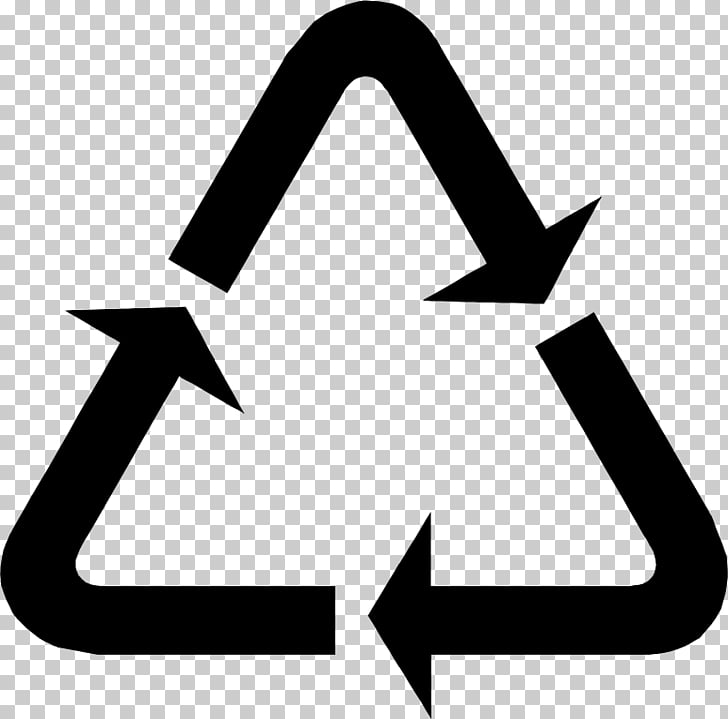 Símbolo de reciclaje códigos de reciclaje, reducir.