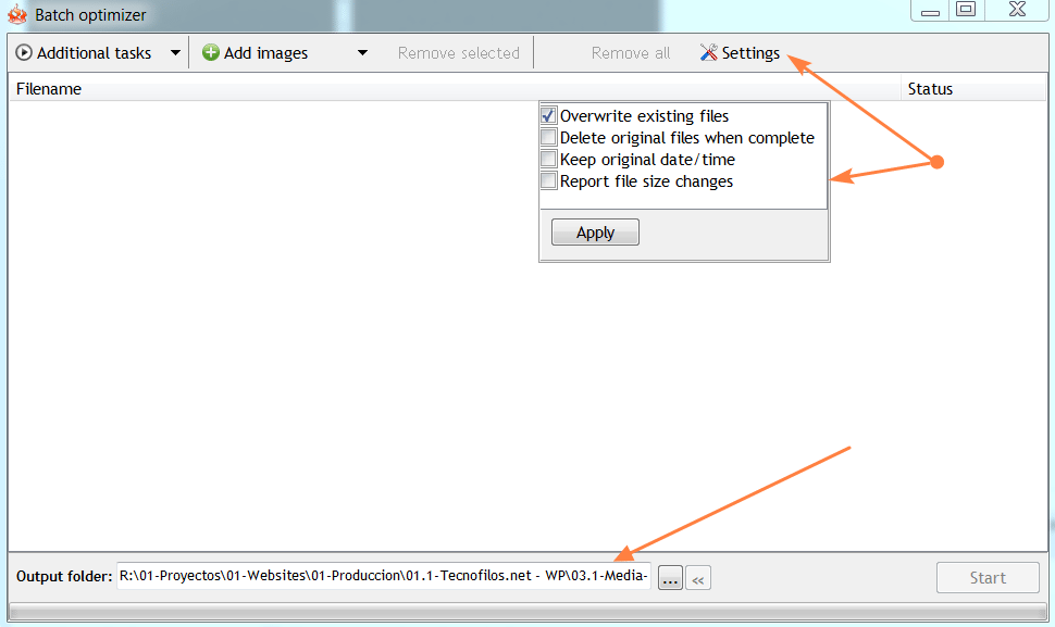 Cómo reducir el tamaño de una imagen o de muchas de una sola vez.