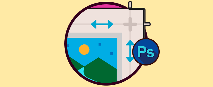 Cambiar tamaño de elementos en Photoshop CS6.