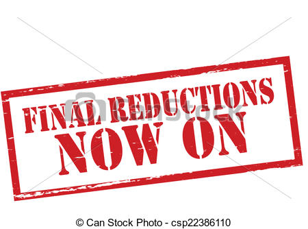 Vector Clip Art of Final reductions.