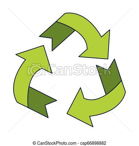 recyclez symbole, réduire, réutilisation.