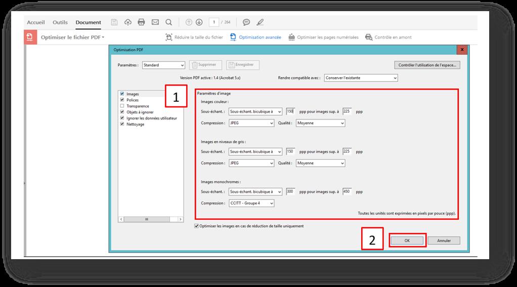 Comment optimiser un PDF avec Acrobat Pro (Acrobat 5.