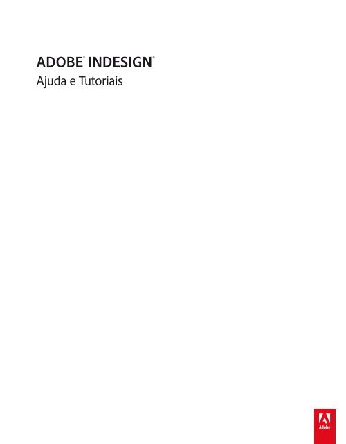 PDF Ajuda do InDesign CS6 (20 MB).