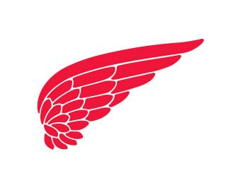 Logo Shoe With Wings.