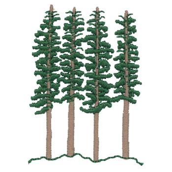 redwood forest clipart #2