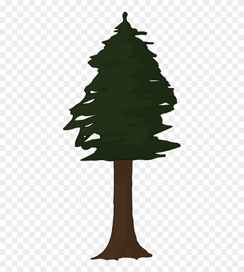 Clipart Redwood Tree.